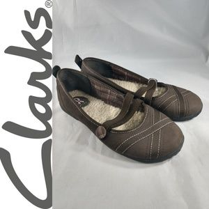 Clarks Privo Womens 7 Mary Jane Style Slip On Flat